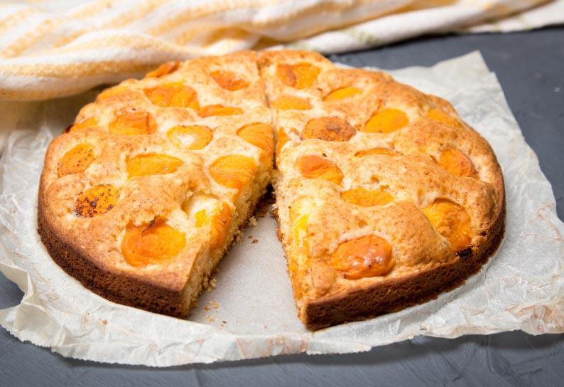 Aprikosen Joghurt Tarte