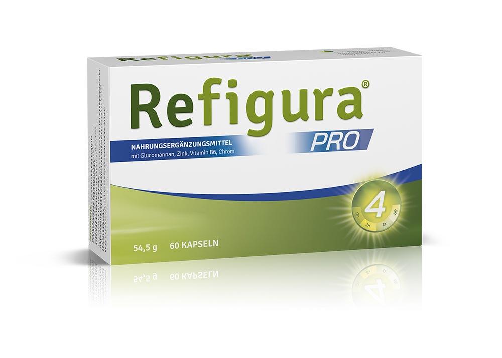 Verpackung von Refigura Pro 60 Kapseln